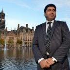 Bradford Telegraph and Argus: Dr Mohammed Iqbal, founder of Bradford Matters, in the city centre