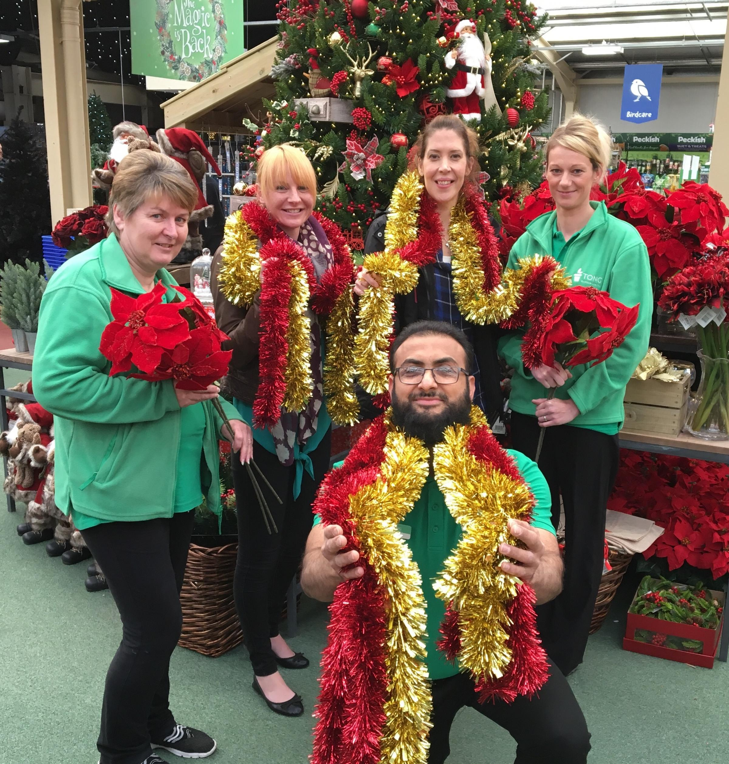 Garden Centre Staff Digging Deep To Support Children S Hospital At Christmas Bradford Telegraph And Argus