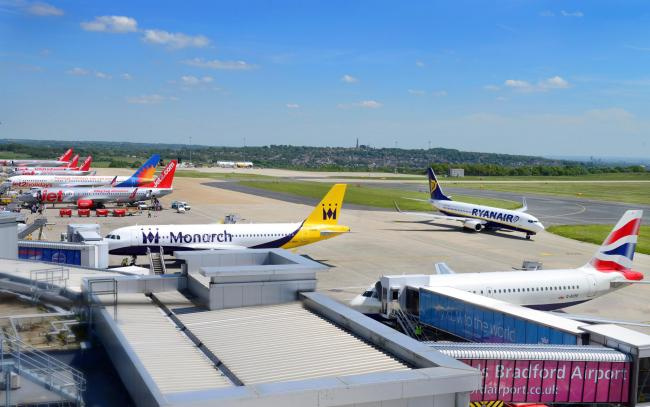 GROWTH : Leeds Bradford Airport bosses are confident about the future