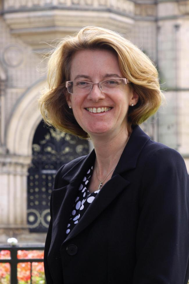 SKILLS: Councillor Susan Hinchcliffe, leader of Bradford Council