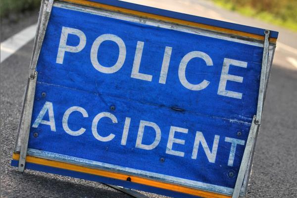 Halifax Road in Todmorden is closed due to a road traffic collision