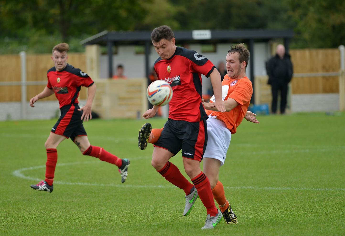 Player-manager Danny Forrest put Silsden ahead with 15 minutes left