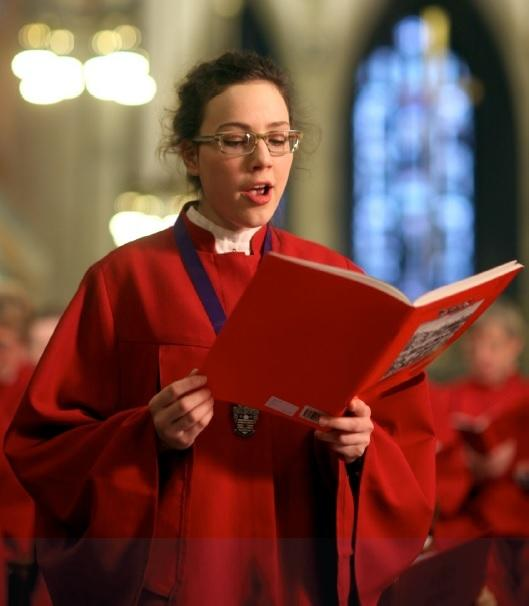 Former chorister Sarah McWhinney will be exhibiting her artwork at the Cathedral in 2017