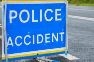 Multi-vehicle crash closes two lanes of motorway