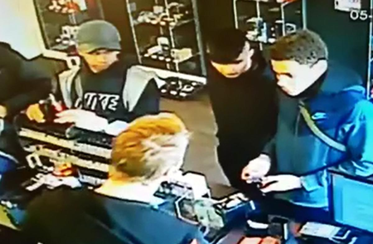 Boss of we are vapes in wibsey appeals for help to identify four cctv dancing youths caught on camera stealing from e cigarette shop solutioingenieria Gallery
