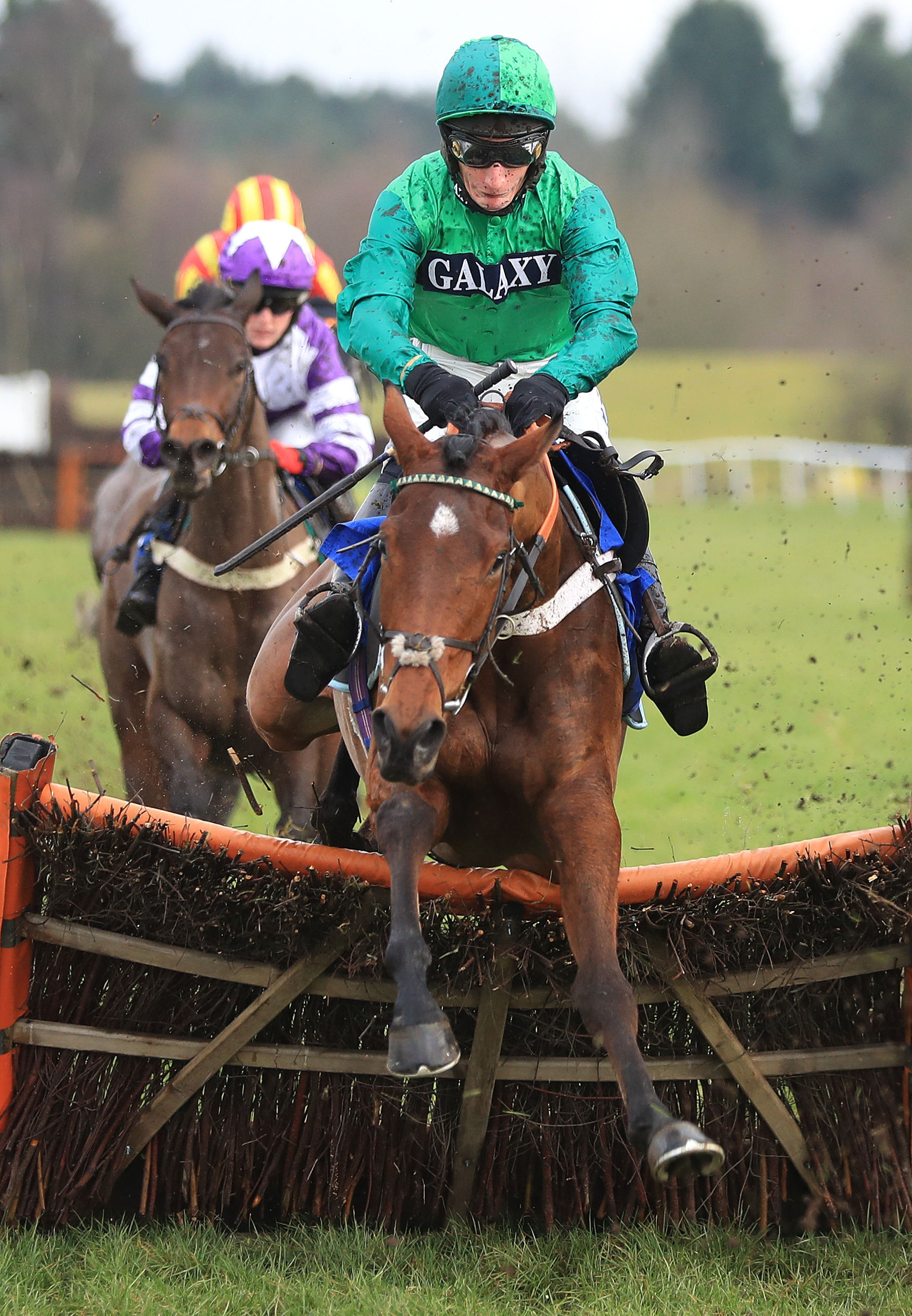 Daryl Jacob rides today's nap selection at Huntingdon – Picture: Mike Egerton/PA Wire
