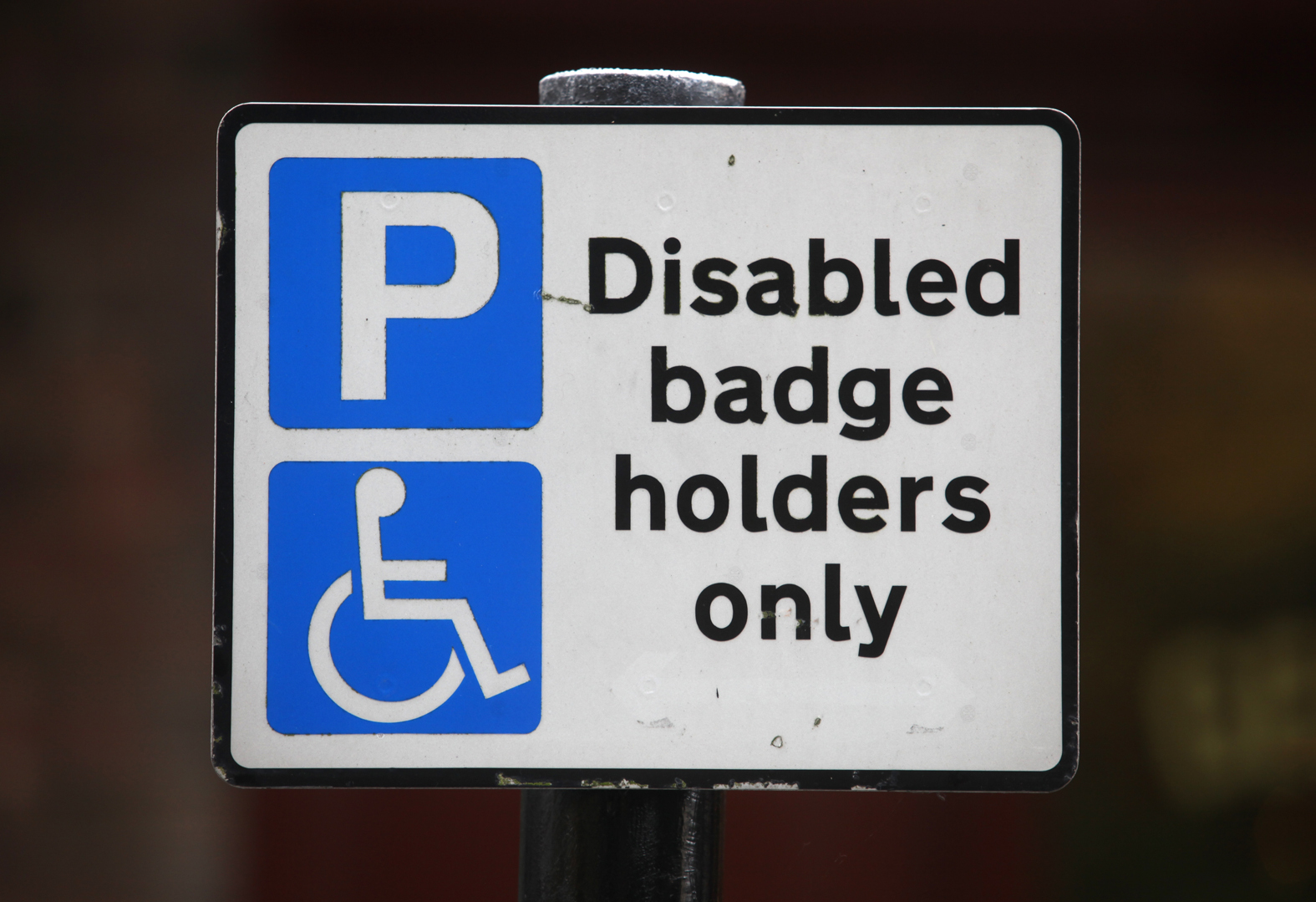 "The Government plans to extend the blue badges scheme to people with ""hidden disabilities"""