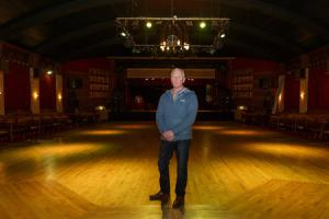 Glen Smith, the manager of the Ritz Ballroom, in Brighouse