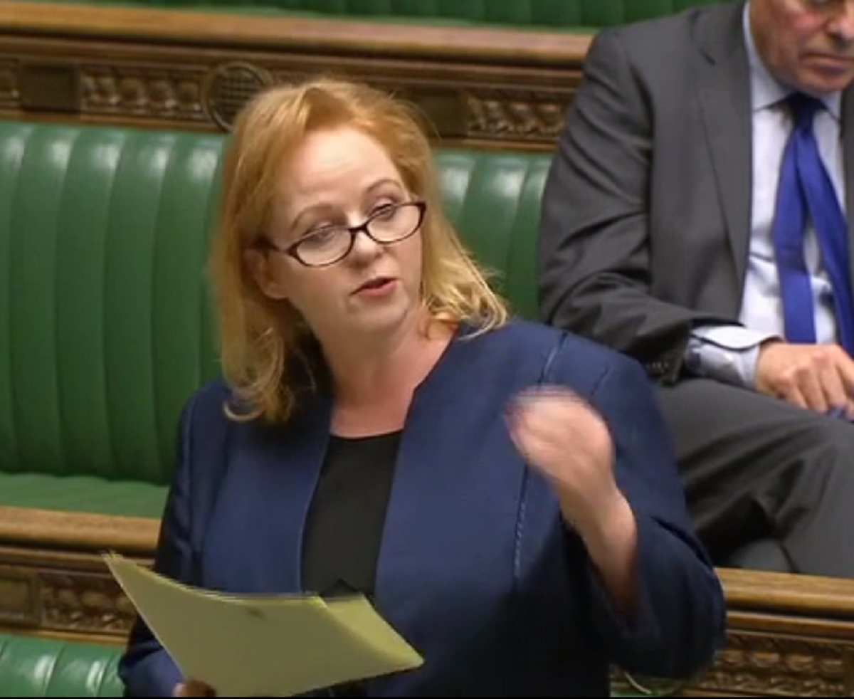 Judith Cummins MP takes part in a Commons debate on social care.