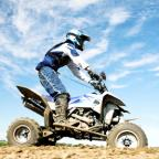 Bradford Telegraph and Argus: Quad bikes are fine on private land, but on public roads they are often a menace