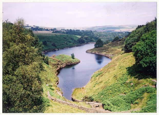 Ramsden Reservoir near Holmfirth is along the route of the Yorkshire Water Way