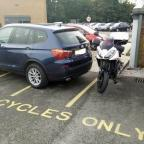 Bradford Telegraph and Argus: Parking in bay