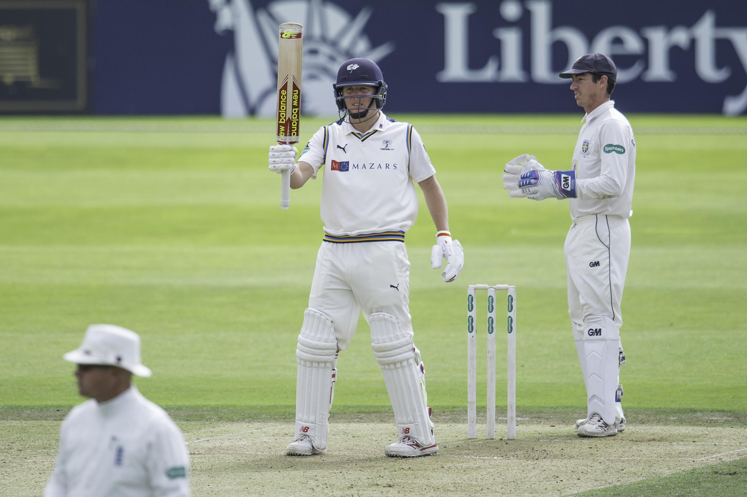 Gary Ballance may be unable to play in Yorkshire's pink ball County Championship match this summer