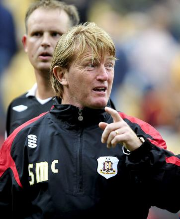 Stuart McCall has admitted there is a buzz around Valley Parade