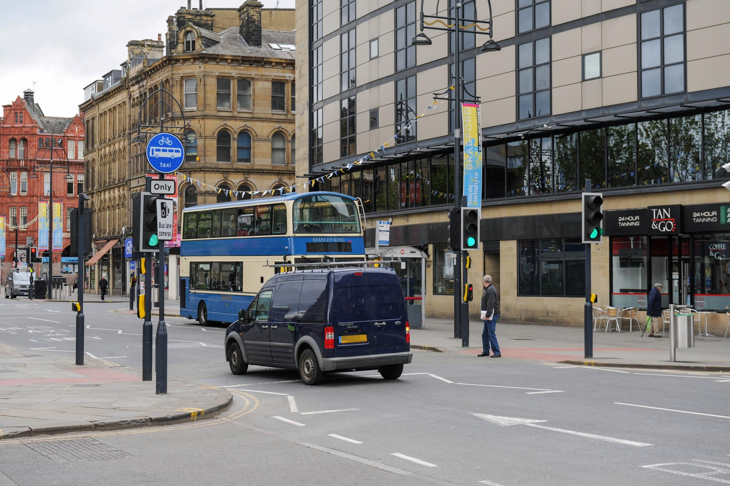 Shock as Bradford drivers are hit by 23m of bus lane fines in a
