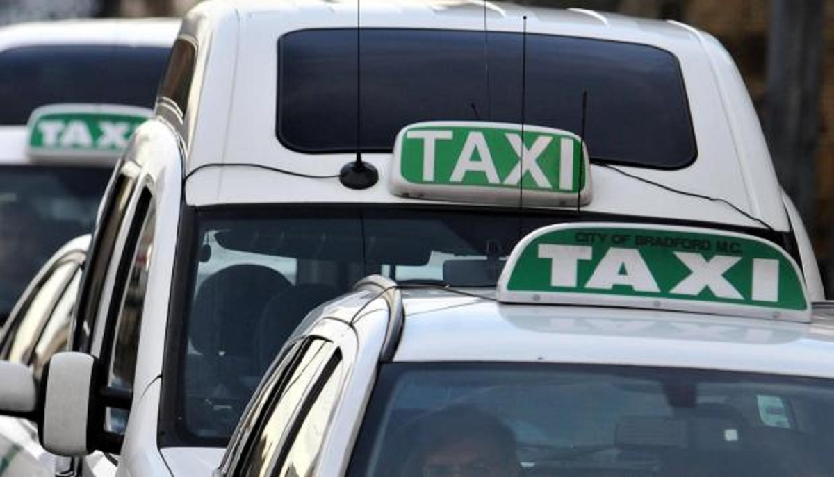 Taxis operating in Bradford