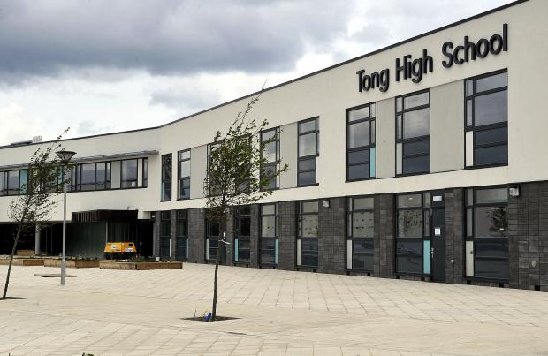 Bradford Telegraph and Argus: Tong High school