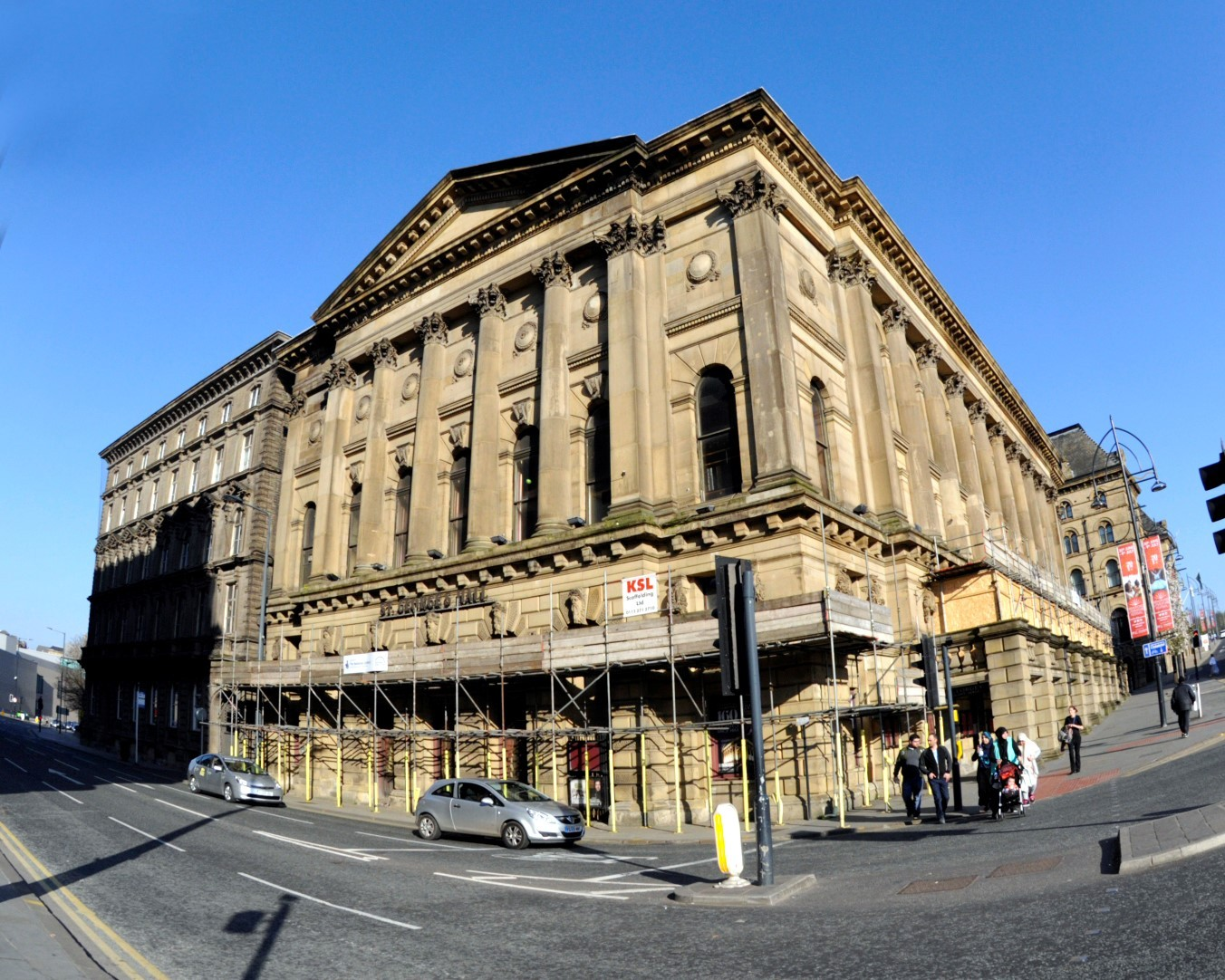St George's Hall in Bradford