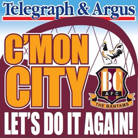 Bradford Telegraph and Argus: gd luck city frpom whole Bridlington