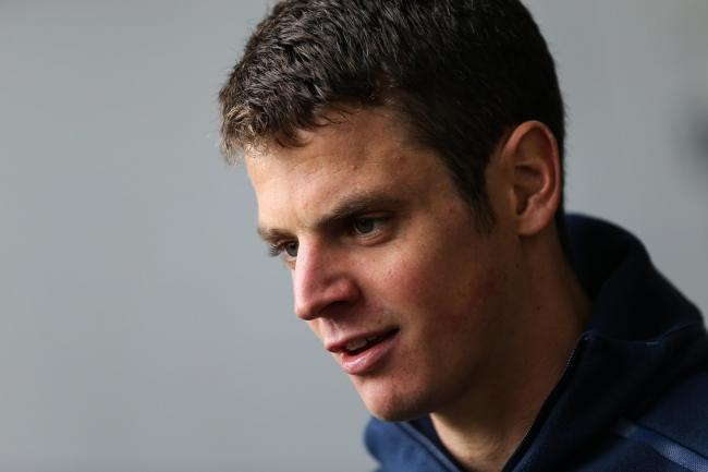 Triathlete Jonny Brownlee was unable to make the podium   Picture Barrington Coombs/PA Wire.