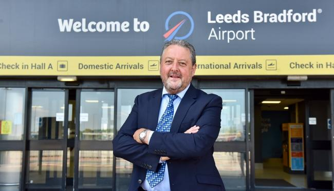 David Laws, the new chief executive of Leeds Bradford Airport