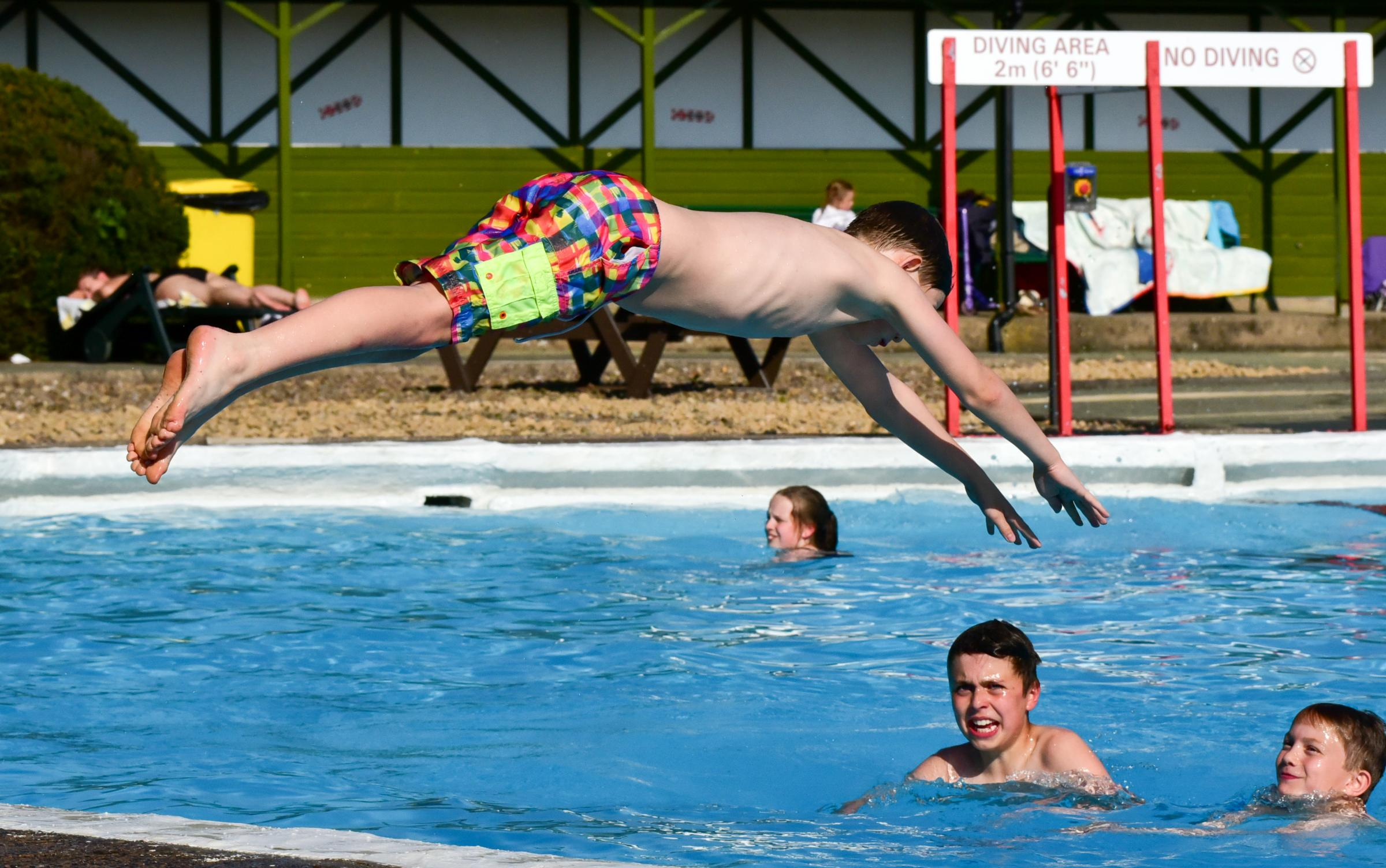 Ilkley Lido will officially open for summer this Saturday, May 26
