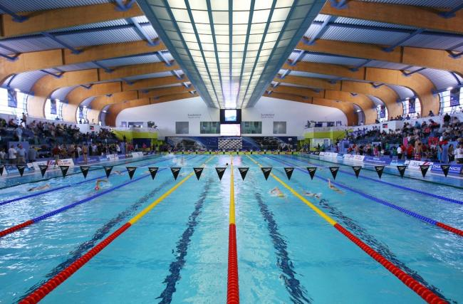 Sunderland Aquatic Centre, where four City of Bradford Swimming Club records were broken in the Swim England North East Region Youth and Senior Championships Picture: Vaughn Ridley/sw.pix.com