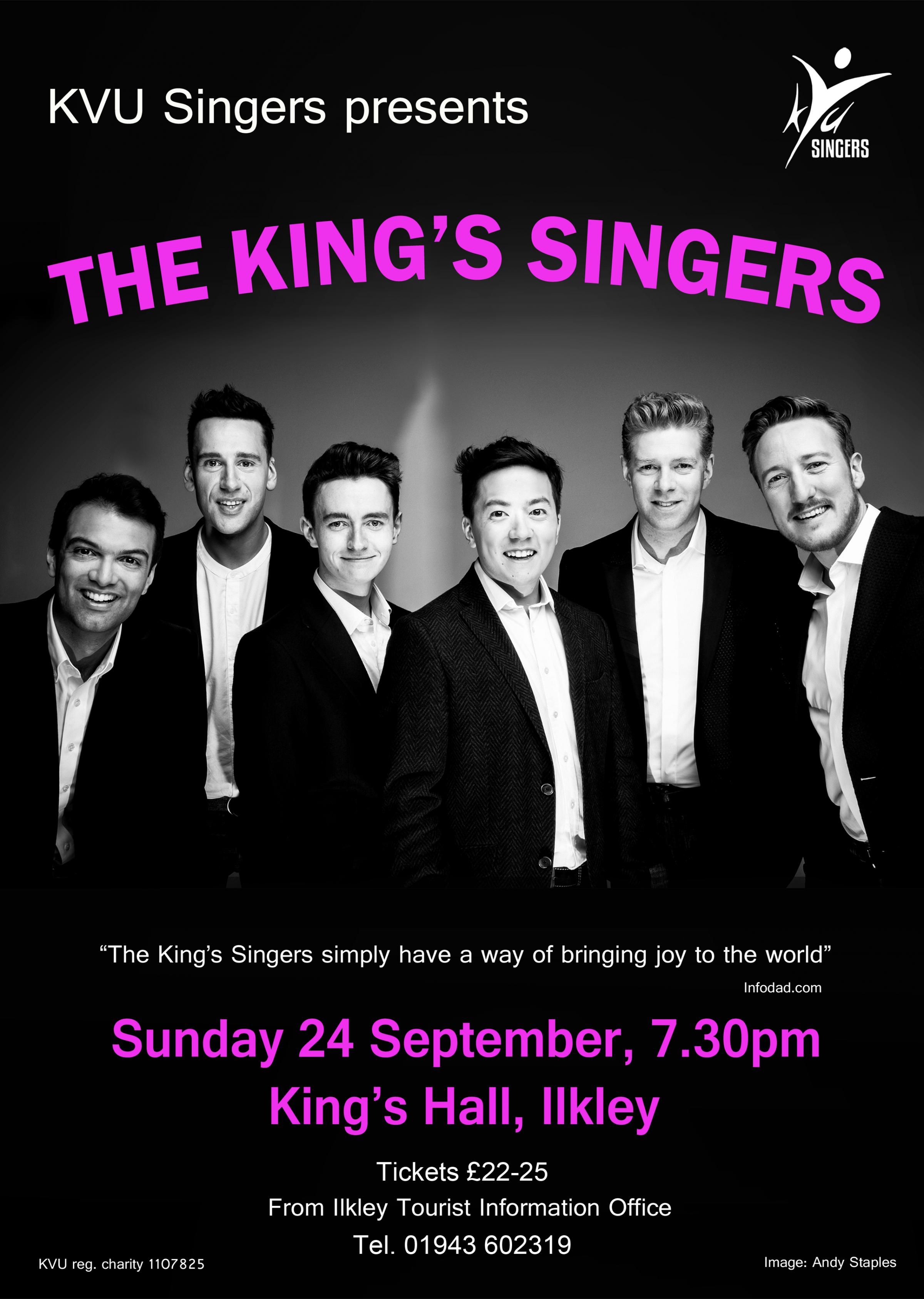 KVU Singers present The King's Singers