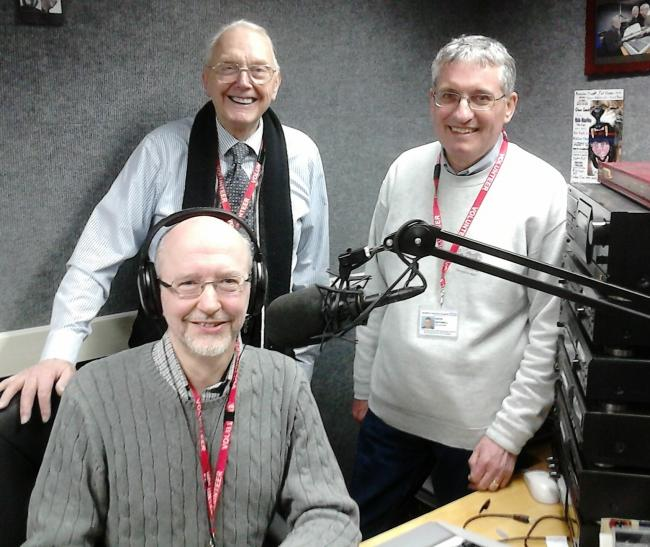 St Luke's Sound presenters with David Rathmell on the right