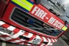 Breathing apparatus was used to deal with the bedroom fire in Tyersal