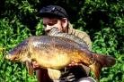 A nice fish for Bradford City AA member Dean Ireland at Shipton Lake