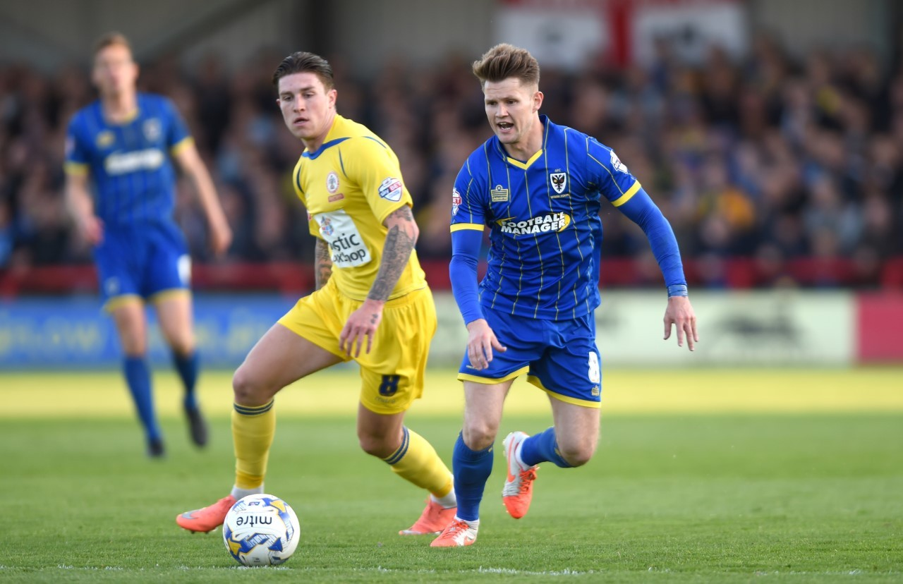 WANTED MAN: Wimbledon midfielder Jake Reeves is on City's hit-list
