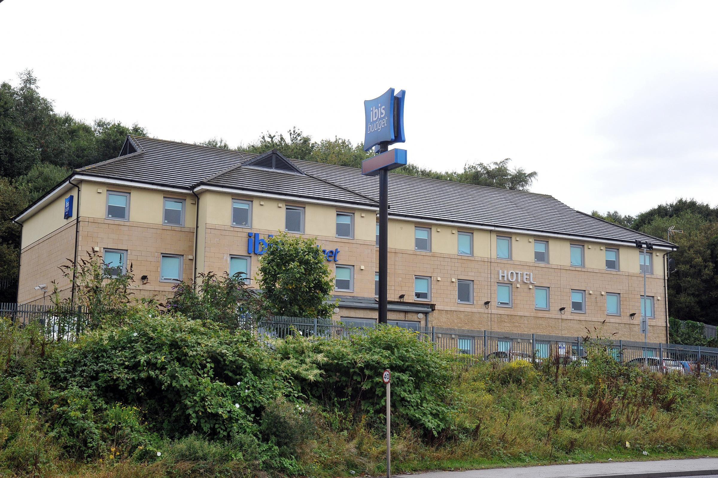The Ibis Budget hotel off Canal Road, Bradford