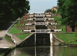 Bradford Telegraph and Argus: Five Rise Locks, Bingley