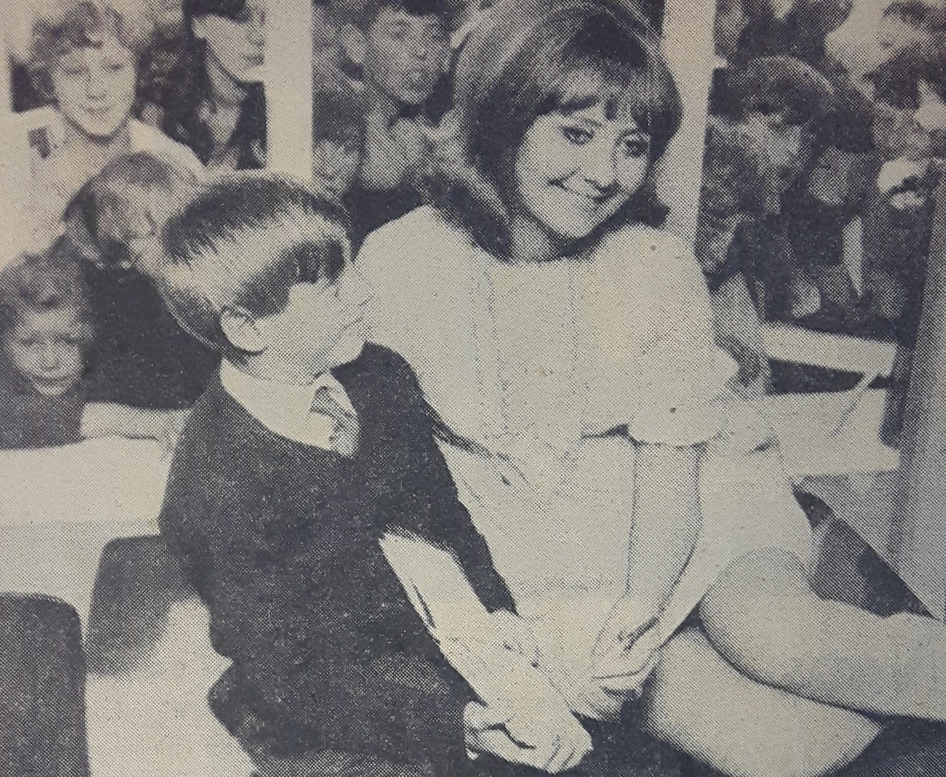 This month marks the 50th anniversary since the singer, Lulu, visited the home of one of her young fans in Bradford
