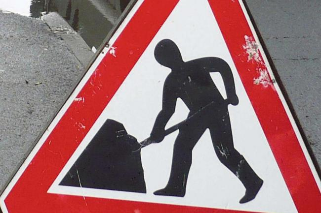 Three lanes of the M62 have had to be closed for emergency roadworks.