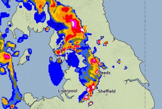 Heavy Rain Map on