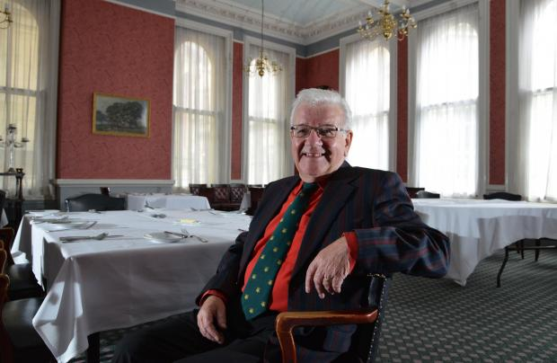 Bradford Telegraph and Argus: Tony Emmott, President of the Bradford Club