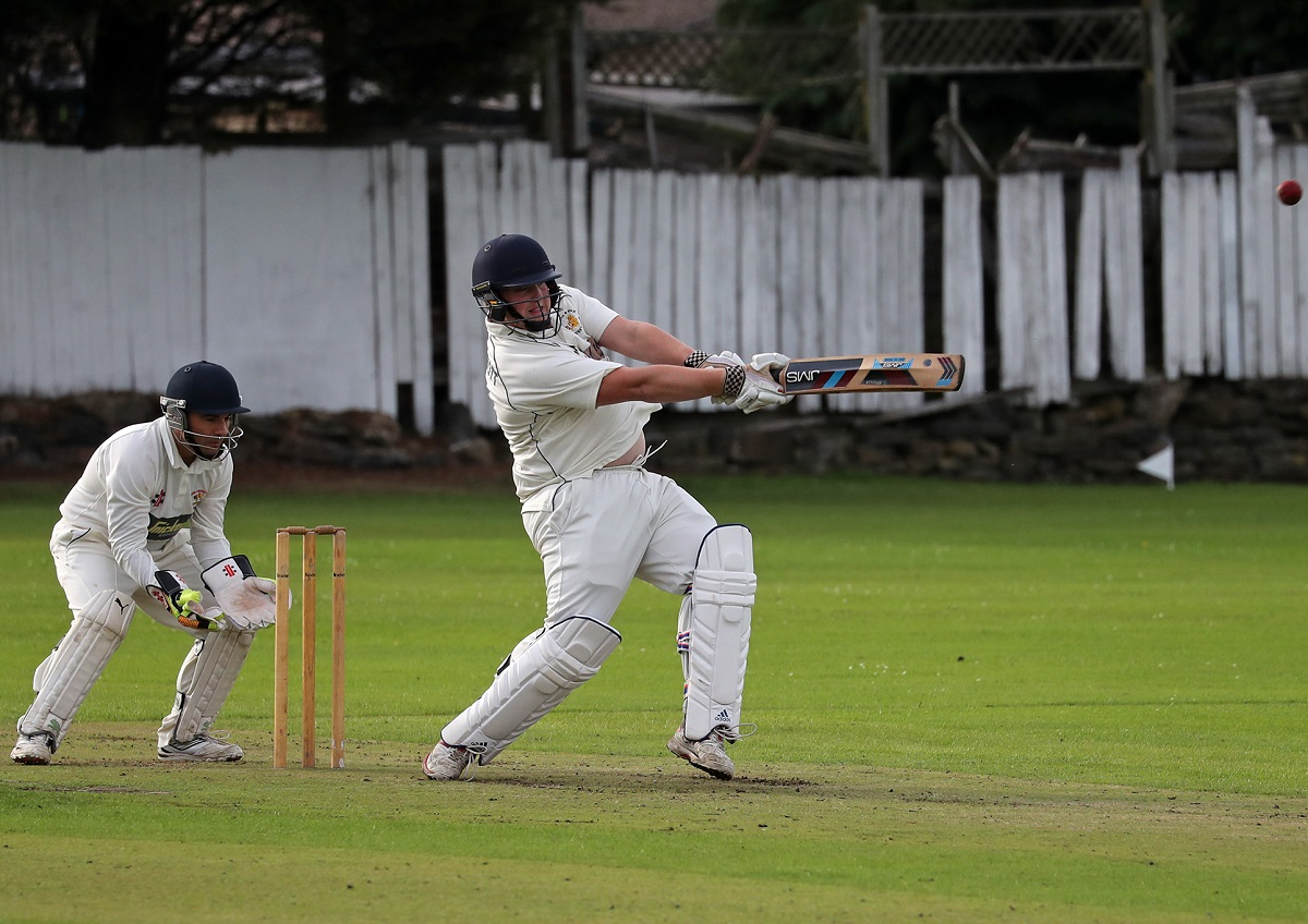 Kevin McDermott has won the overall batting, bowling and fielding prizes, plus the Division Two batting and bowling awards in the Bradford & District Evening League Picture: Alex Daniel Photography