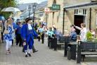 Local folk of Ilkley celebrate Yorkshire Day.