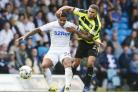 The potential sale of Huddersfield Town's Nahki Wells, right, could see City land a seven-figure sell-on fee   Picture: Danny Lawson/PA Wire