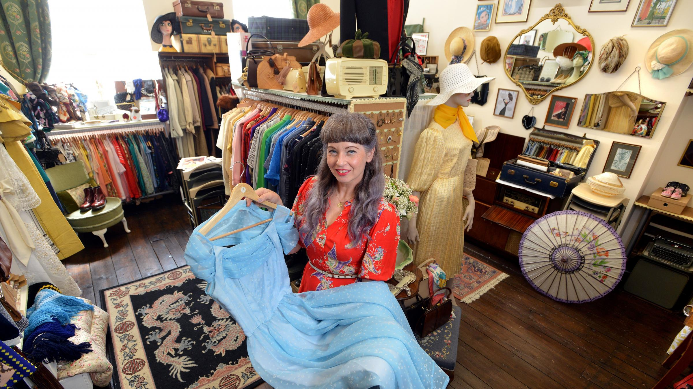 Bradford businesswoman Trudy Fielding has launched her own vintage fashion studio, Vintage-Beau, in Little Germany