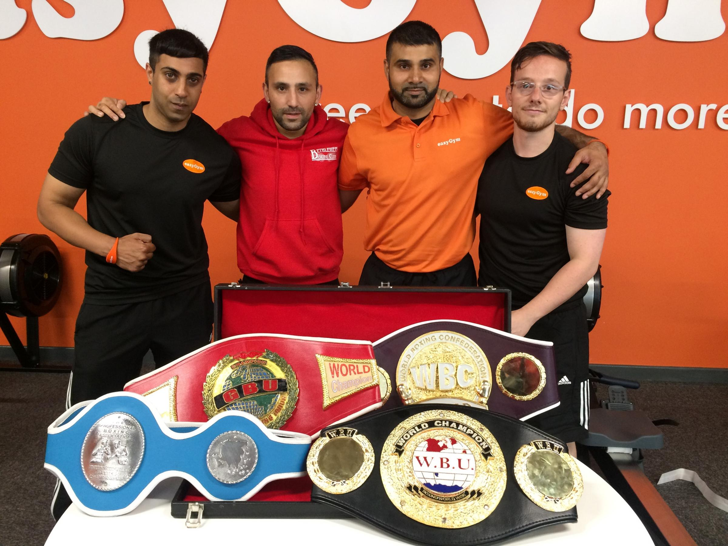 The launch of the new easyGym in Bradford