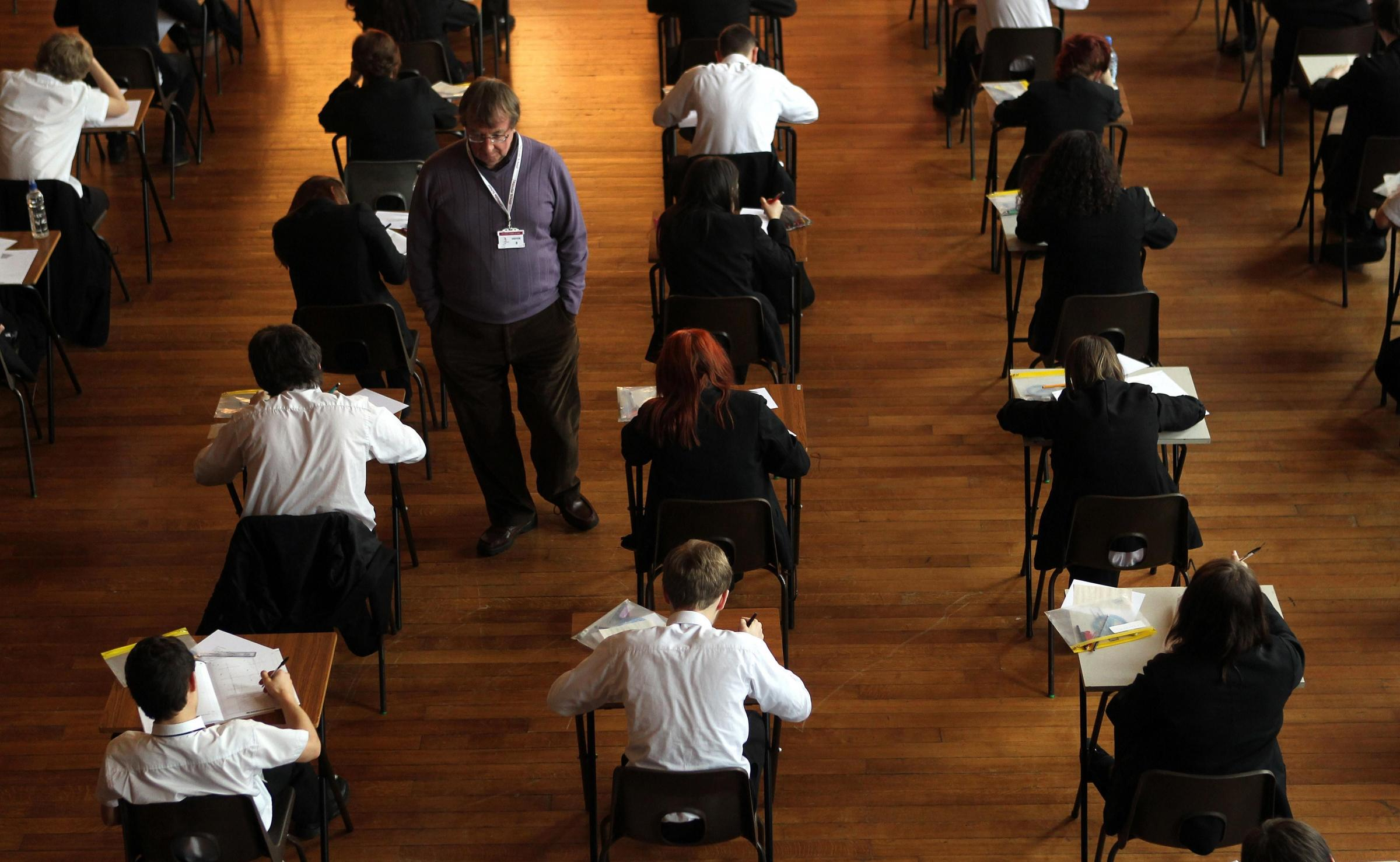 GCSE results will be released tomorrow David Davies/PA Wire.