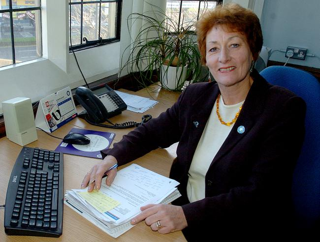 Kath Tunstall, the Council's strategic director for services to children and young people