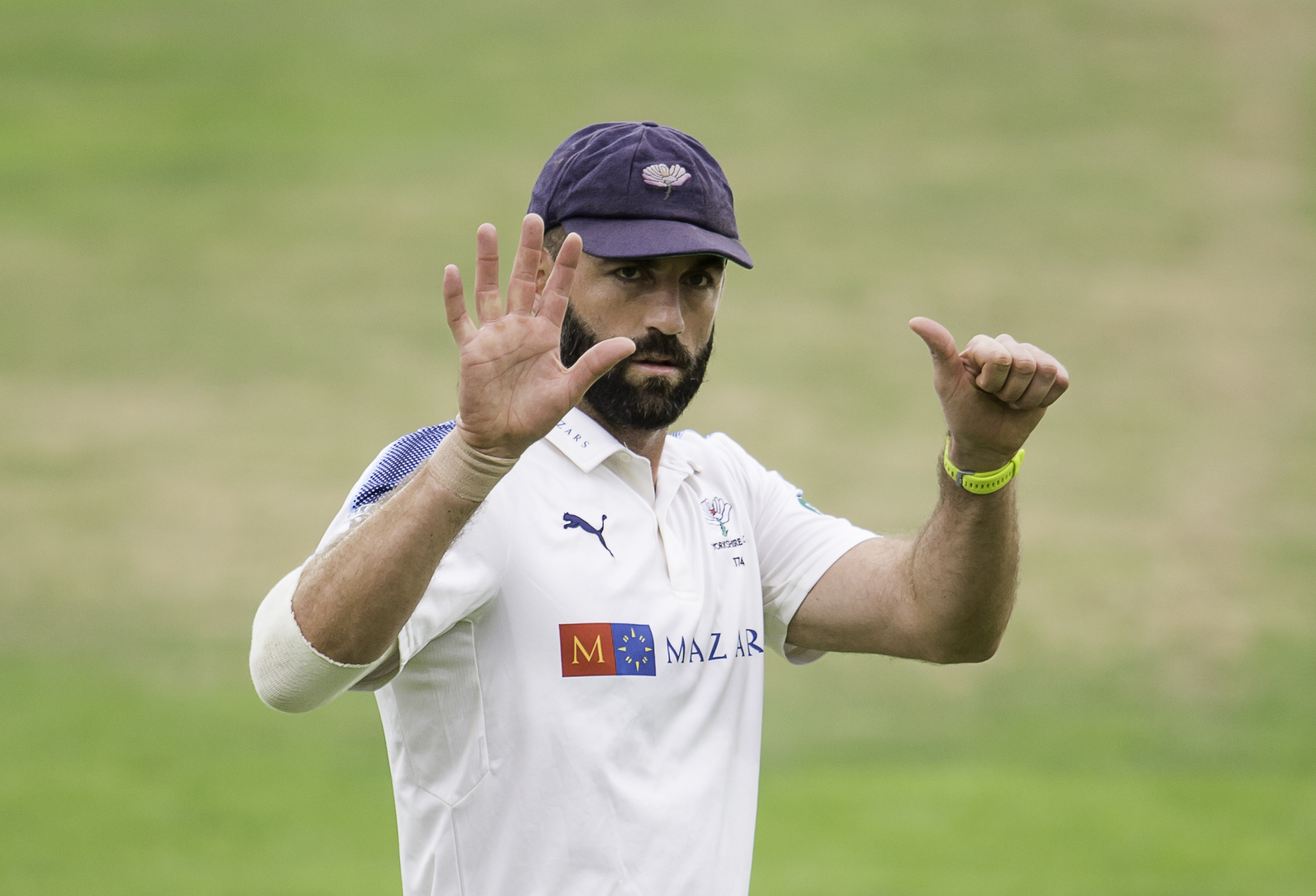 Yorkshire's Liam Plunkett is back for Yorkshire following a spell in the Indian Premier League. Picture by Allan McKenzie/SWpix.com Yorkshire's Liam Plunkett..