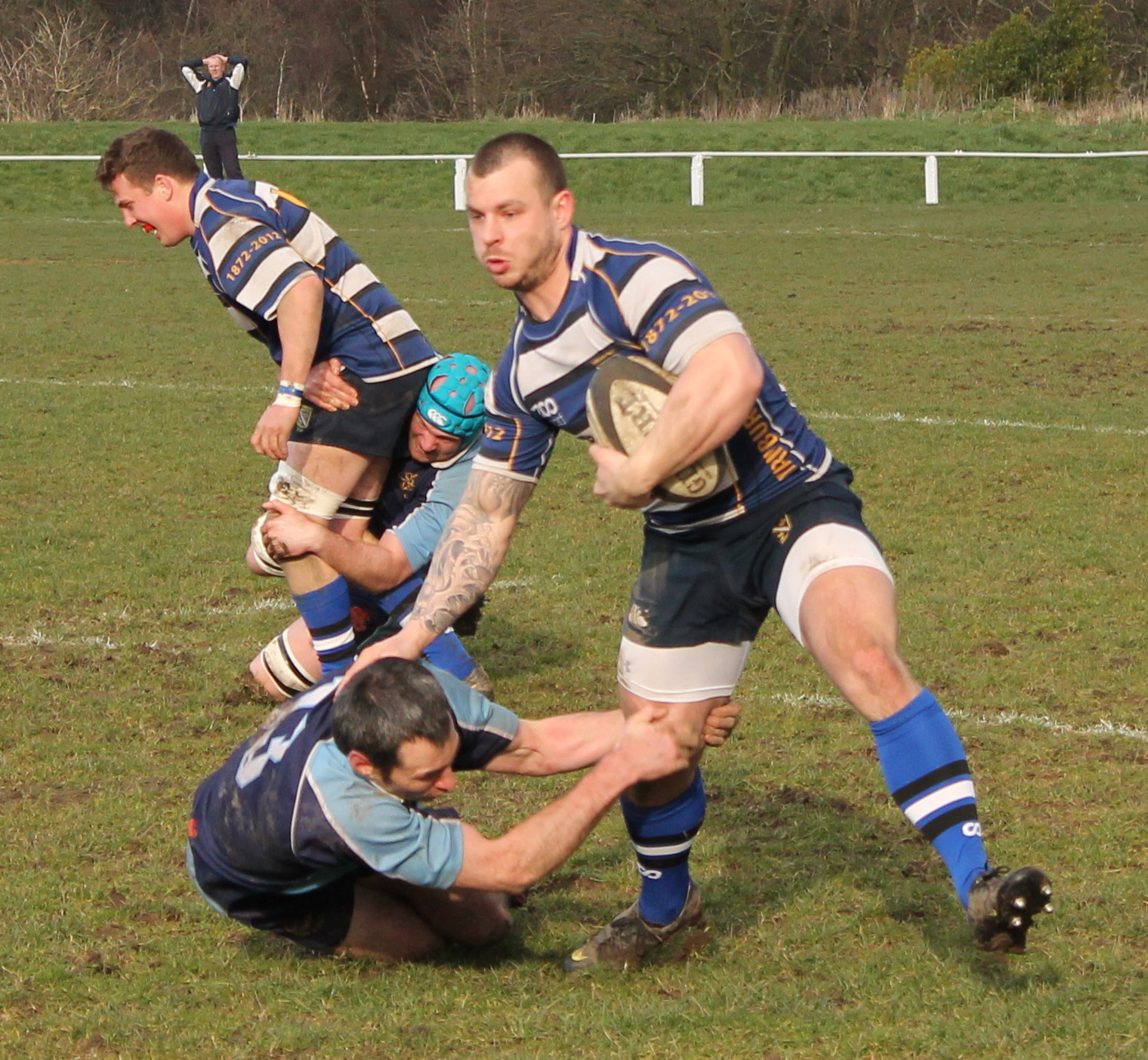 Yarnbury winger Ellis Gomersall is relishing his rugby after a season out