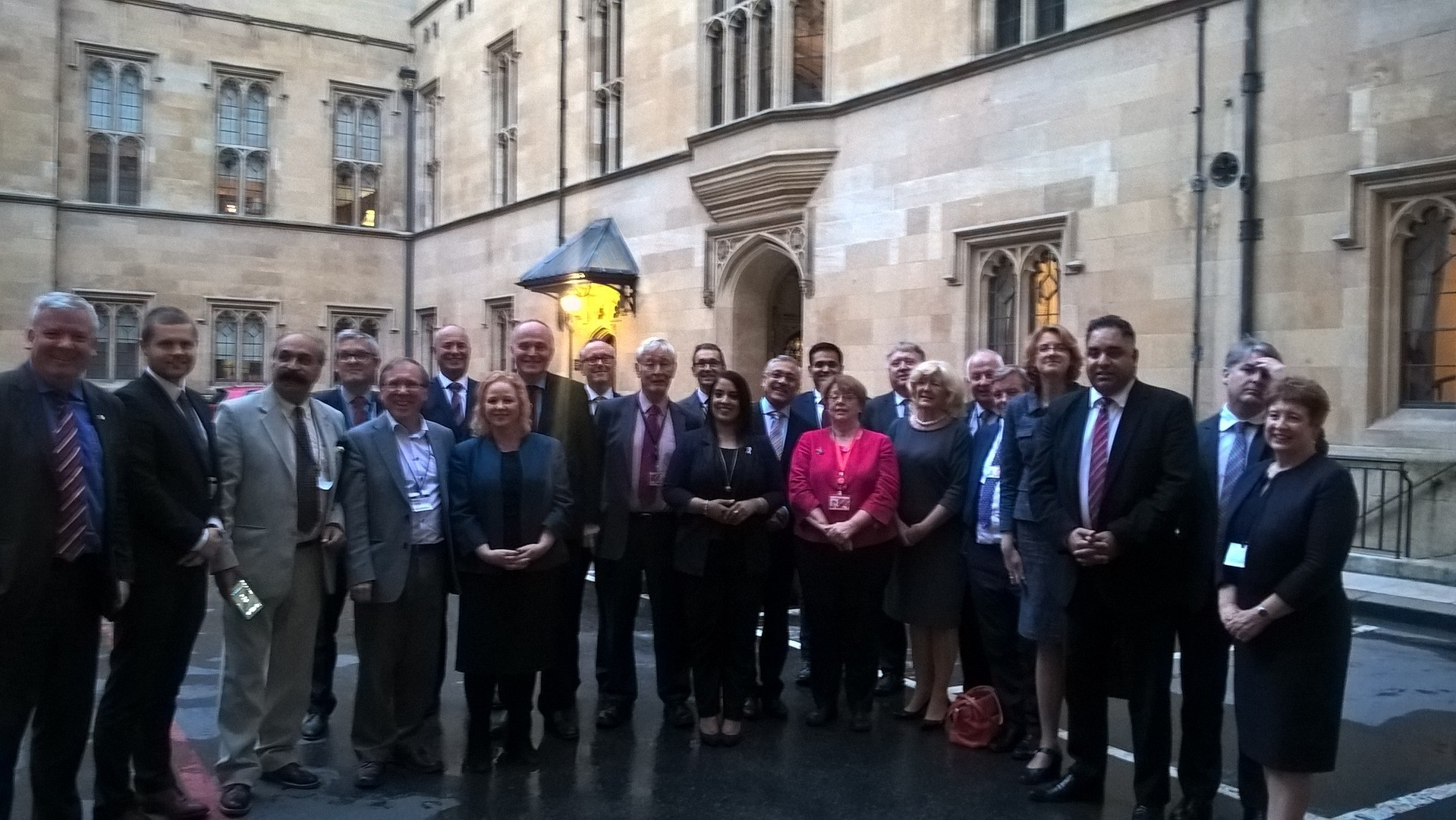 Members of business group Bradford Breakthrough and the district's MPs, Peers and Council Leader at the meeting