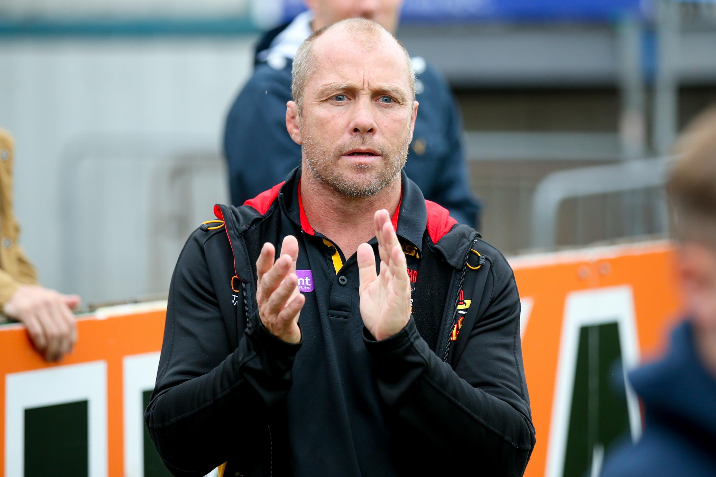 DECISION TIME: Bulls coach Geoff Toovey will make up his mind over his future next month – Picture: Simon Davies