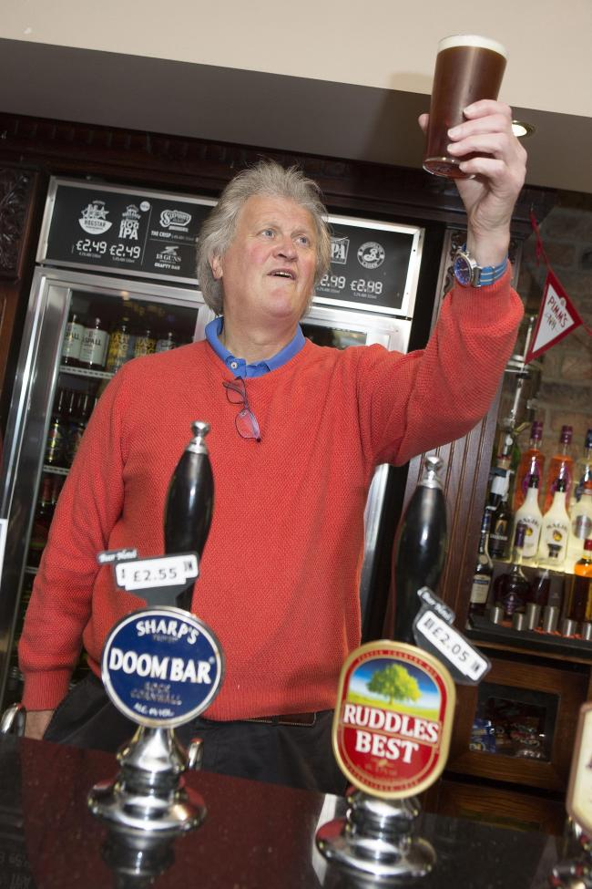 Tim Martin has called for pubs to be opened at the same time as non-essential retail